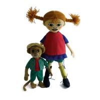 Dockor Pippi och Herr Nilsson