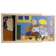 Alfons Åberg, 4 x träpussel