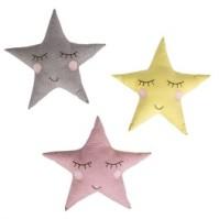 Kudde - Polkadot Star Cushion