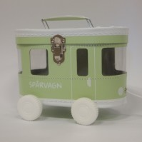 Väska Spårvagn Ljusgrön
