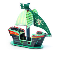 Piratskepp 3D