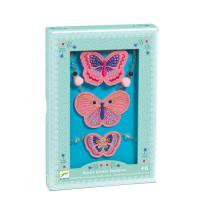Smyckeset Broderade Fjärilar
