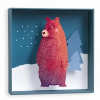 Väggdekor - Björn