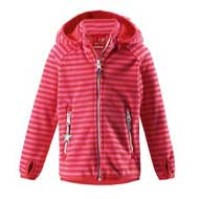 Reima Vuoksi Windfleece - Bright Red