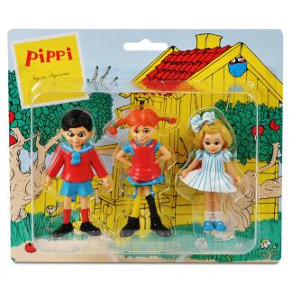Pippi, Tommy & Annika - Lekfigurer -