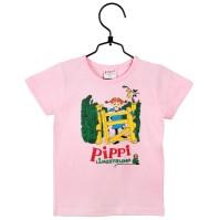 Pippi T-shirt - Villerkulla,Rosa