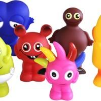Babblarna Plastfigurer, 6 stycken