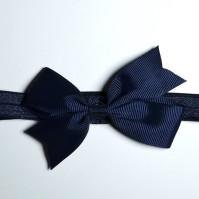 Hårband, Blå Rosett