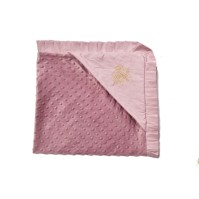 Bjällra of Sweden - Filt Pearl Velvet, Pink Sky