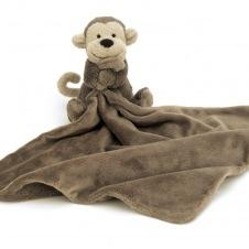 Little Jellycat Bashful Monkey Snuttefilt