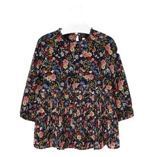 Mayoral - Chiffonklänning Blommor