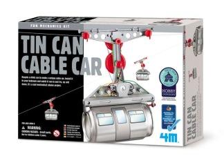 Kidz Labs - Tin Can Cable Car -
