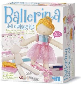 Gör din egen ballerinadocka -