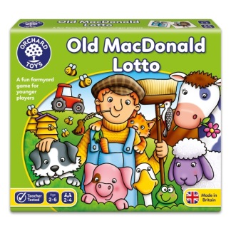 Spel - Old MacDonald Lotto -