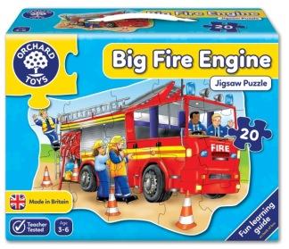 Golvpussel - Big Fire Engine -