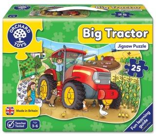 Golvpussel - Big Tractor -
