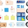 Ambulans med ljud - byggsats
