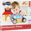Polisbil med ljud - byggsats