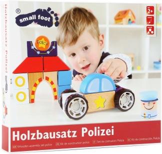 Polisbil med ljud - byggsats -