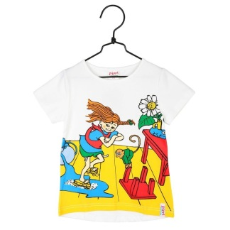 Pippi Tshirt Städdag - Stl 86