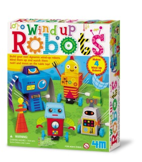 Wind Up Robots - Gör Själv -