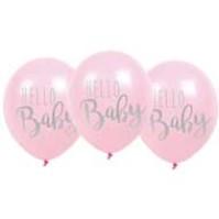 Ballonger Hello Baby Rosa