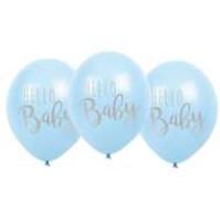 Ballonger Hello Baby Blå