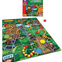 Spel: Jungle Snakes and Ladders