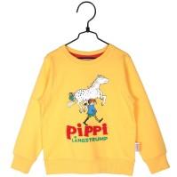 Pippi Collegetröja Gul