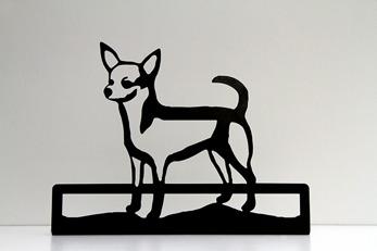 Siluett Chihuahua -