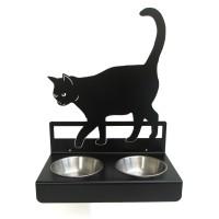 Matskål Katt (vägghängd)