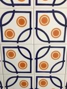 Originalkaklet i köket