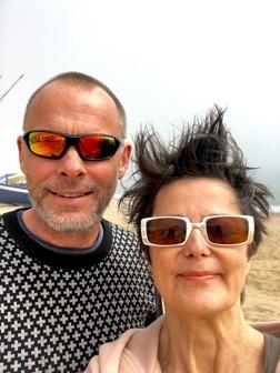 Thomas & Liane nöjda efter det tredje IKEA-besöket på lika många dagar