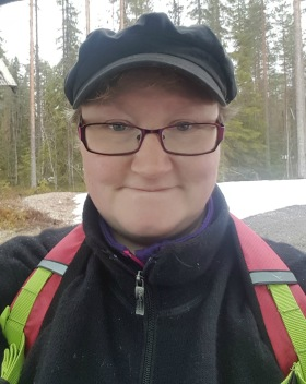 Katarina Hedman at Svartberget Research Station is working for SITES Water since May.