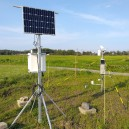 A weather station installed at Röbäcksdalen Field Research Station complementing its SITES Water monitoring. Photographer: Johanna Wallsten.