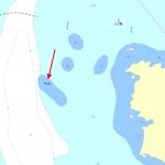 Atlanticagrundet sjökort