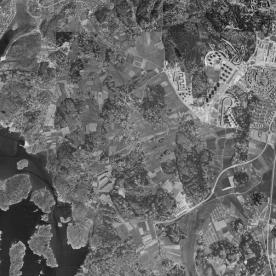 FlygfotoVästraFrölunda1960