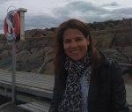 Canita Dagård besöker BryggCafeet