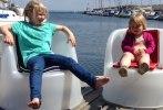 Louise o Olivia inviger Telax donerade fåtöljer