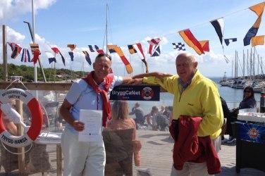AW & Leif Karlborg med diplom