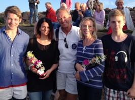 Lukas Andreasson, Frida Stranne, Anders Widén, Ginna Lindberg, Daniel Lindberg efter en rekordkväll om USA alla kategorier!