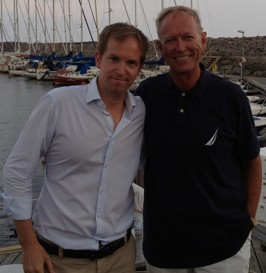 """""""Gör Sverige till ett skatteparadis för låg-och medelinkomsttagare"""" var Henrik von Sydows paroll i Grötvik vid sitt årliga sommarsamtal -mer under """"Nyheter"""""""