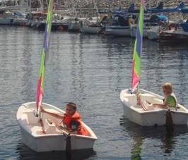 Jonas & Erik seglar första gången