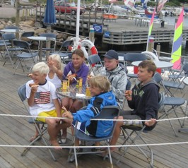 Korvfest på Bryggan 13 juli