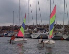 Linnea & Måns seglar