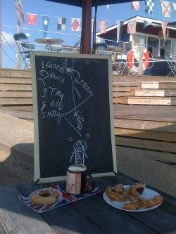 Frukost före segling