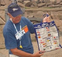 Flaggsignaler - havets vägmärken