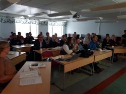 Det var många intresserade som deltog under fredagens presentationer.