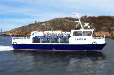FJORDSKÄR Max 76pers: Göteborg - Björkö 7000 kr