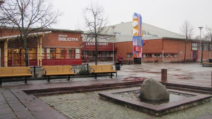 Bäckby bibliotek. Foto: SR